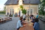 Lunch at the farm house / Domaine de Boisbuchet